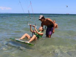 Kiten Einsteiger Kurs in Cagliari | Kitesurfen Lernen Sardinien