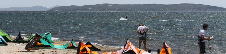 Kitesurf Sardinien