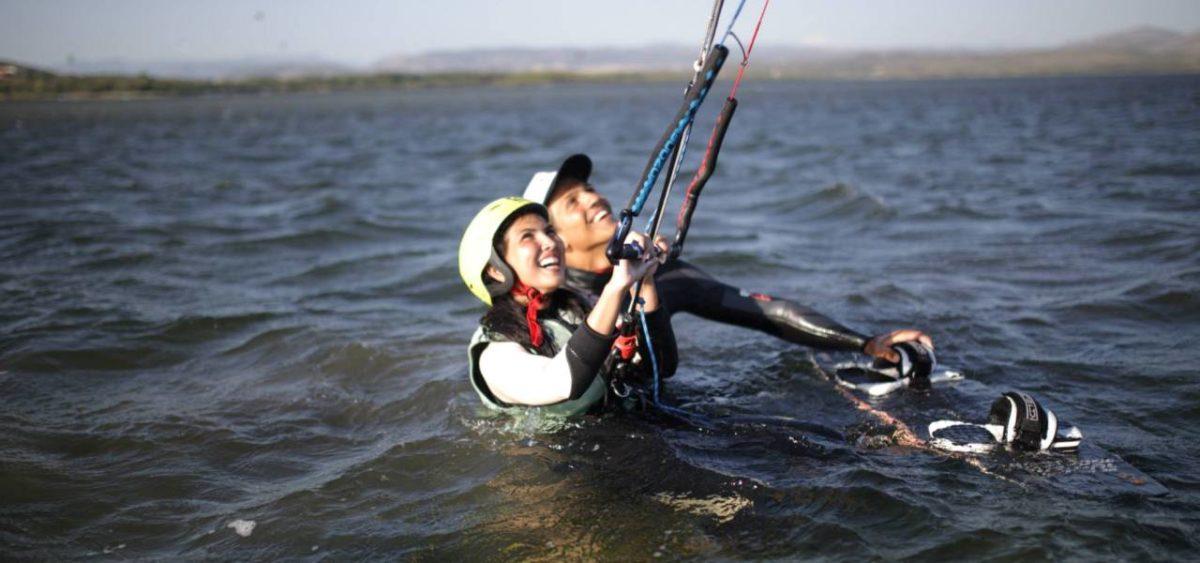 KITEN EINSTEIGER KURS | Kitesurfen Sardinien