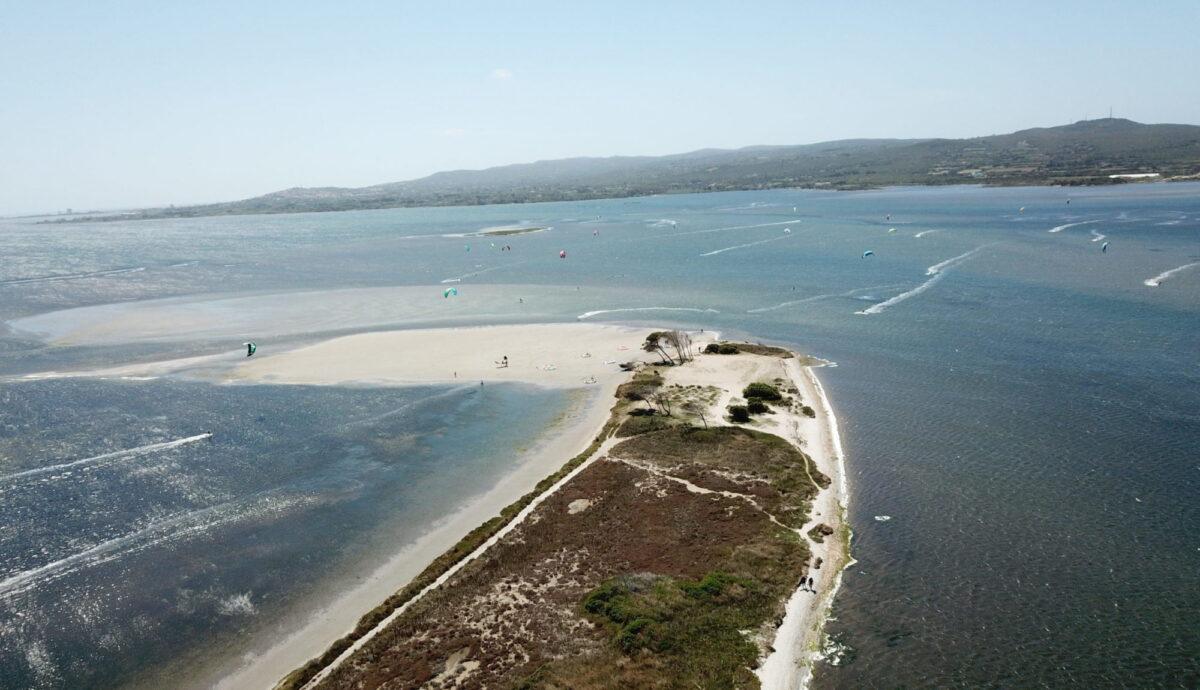 Punta Trettu, das Kitesurfparadies auf Sardinien